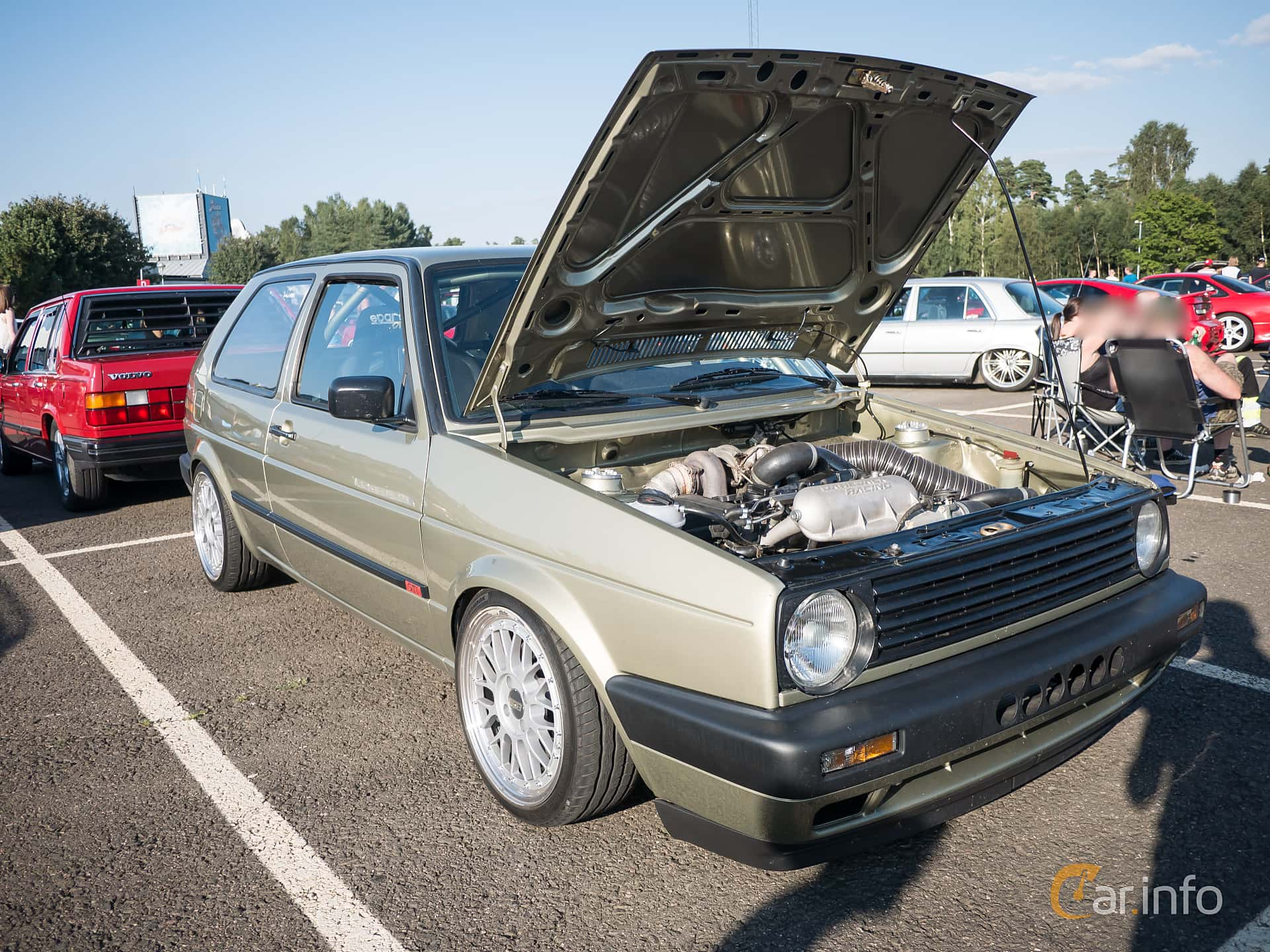 3 Images Of Volkswagen Golf Gti Door 18 Manual 136hp 1990 By Front Side 136ps