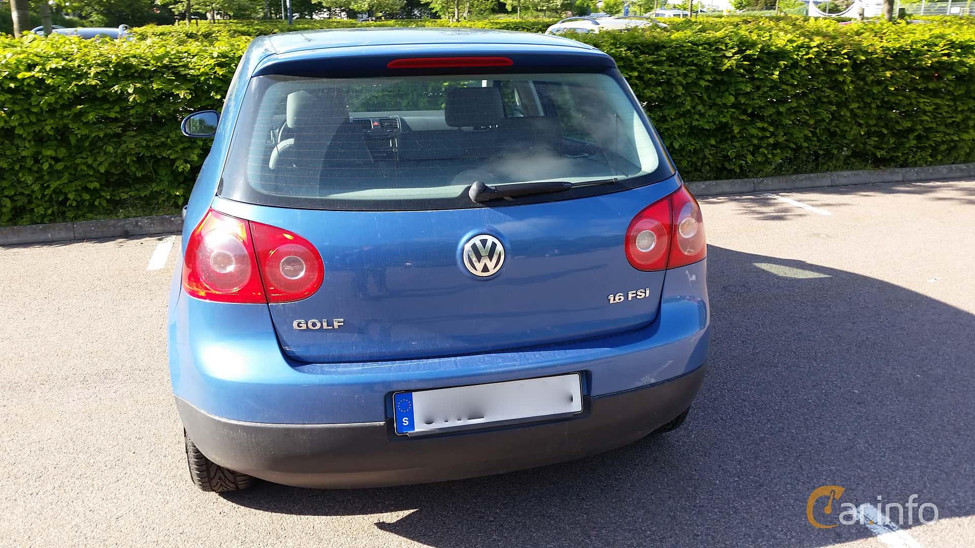 volkswagen golf 5 door 1 6 fsi manual 115hp 2004 rh car info Volkswagen Golf  MK4 Volkswagen