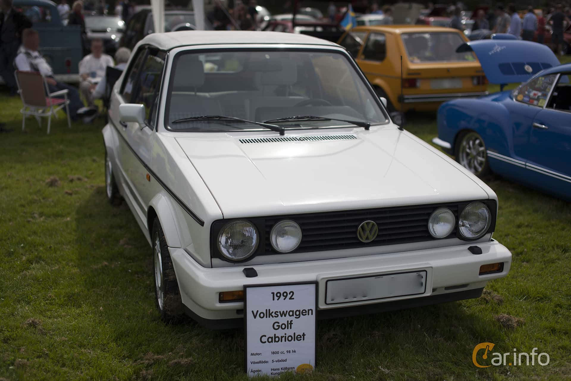 Volkswagen Golf Cabriolet 1 8 Manual 98hp 1992