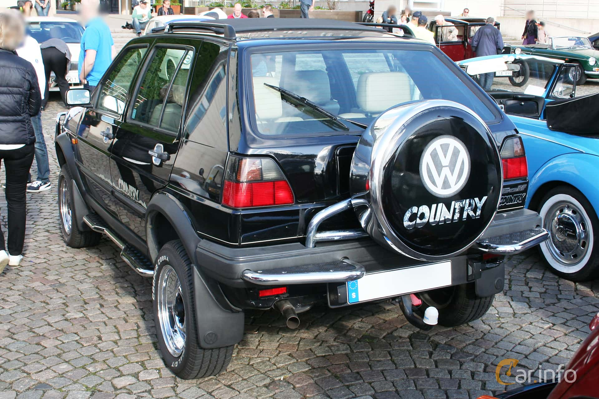 Back/Side of Volkswagen Golf Country 1.8 syncro Manual, 98ps, 1991
