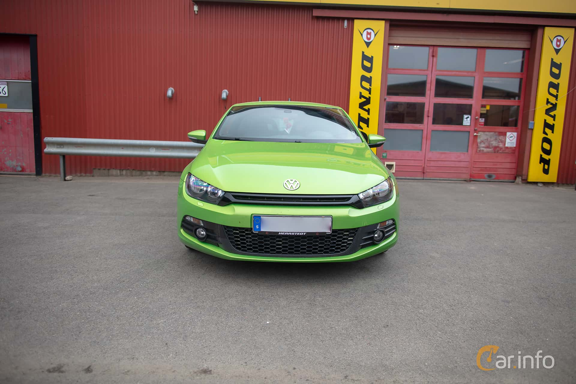 Front  of Volkswagen Scirocco 1.4 TSI Manual, 160ps, 2010 at Lucys motorfest 2019