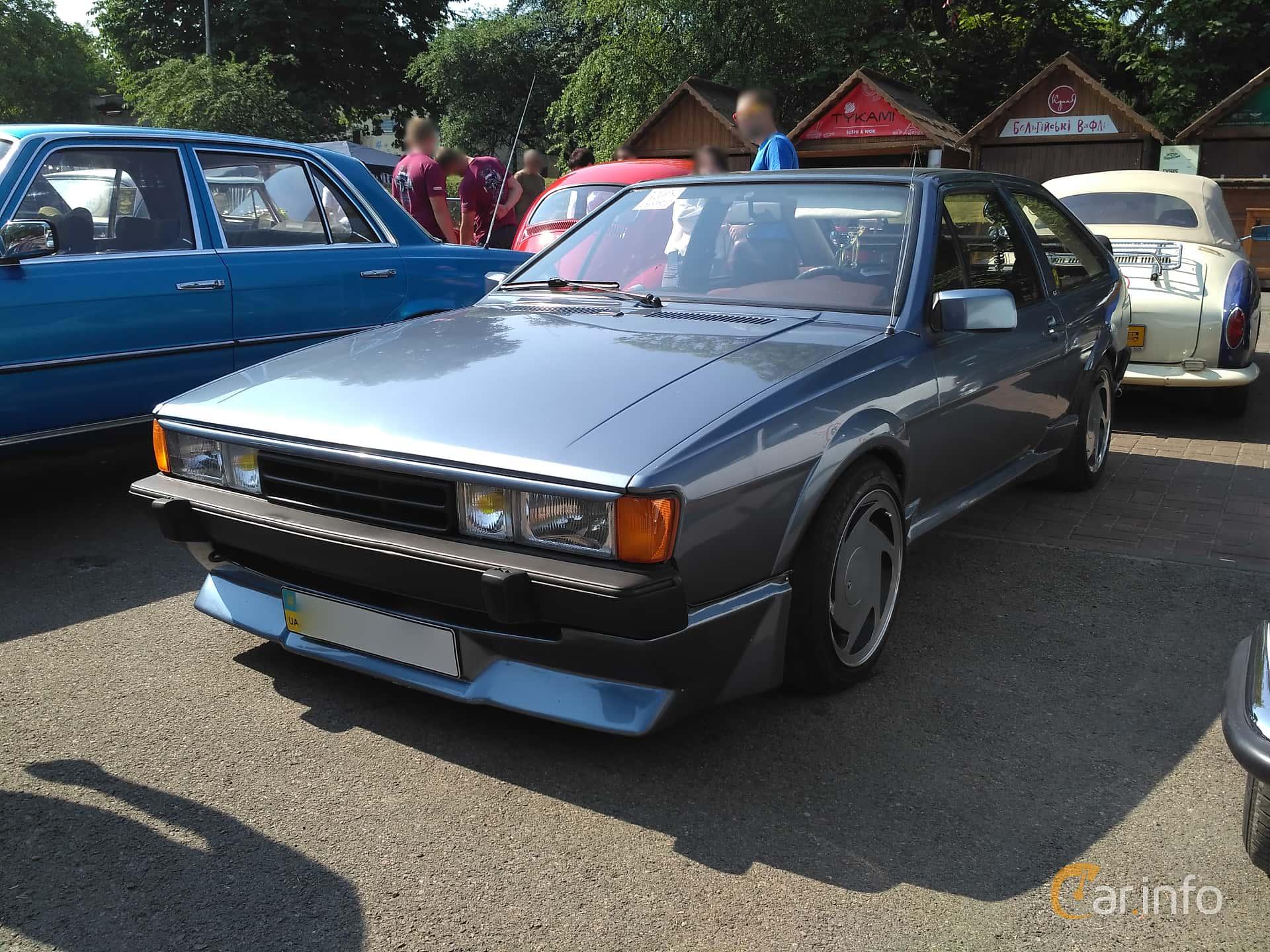 Volkswagen Scirocco 1982 at Leopolis Grand Prix 2018
