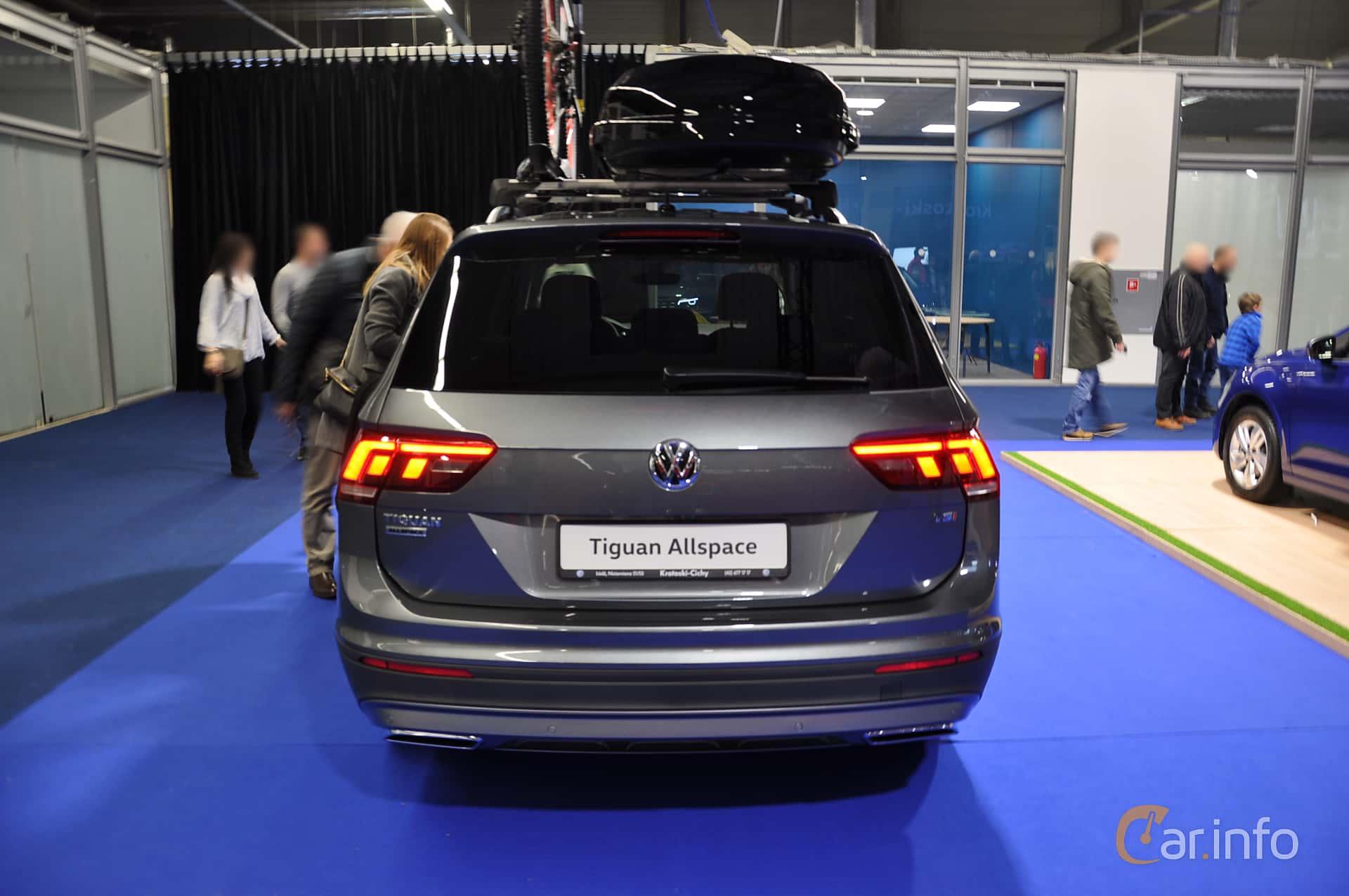 Volkswagen Tiguan Allspace 2018 at Warsawa Motorshow 2018