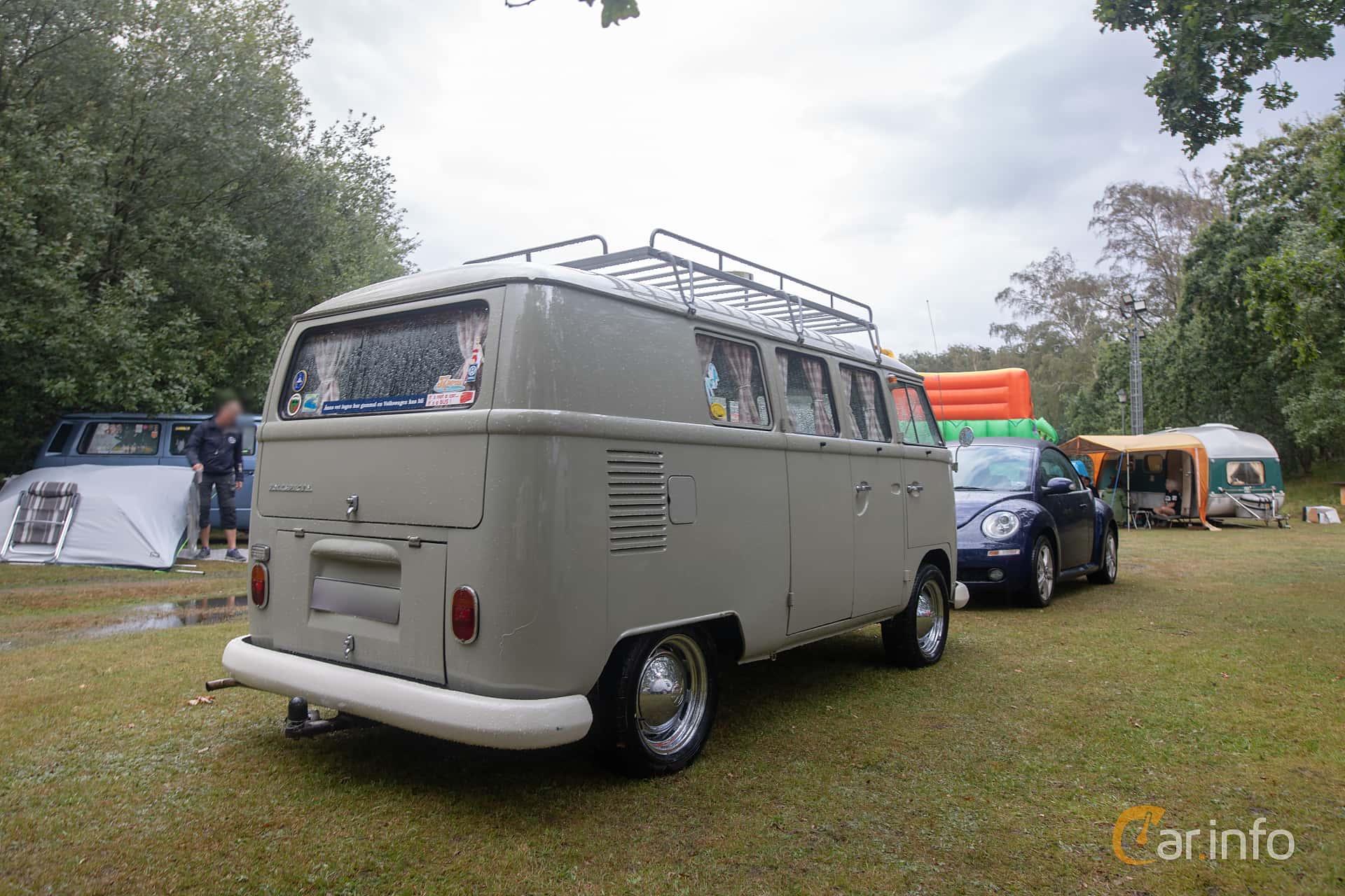 Volkswagen Transporter 1500 1.5 Manual, 44hp, 1967 at West Coast Bug Meet 2019