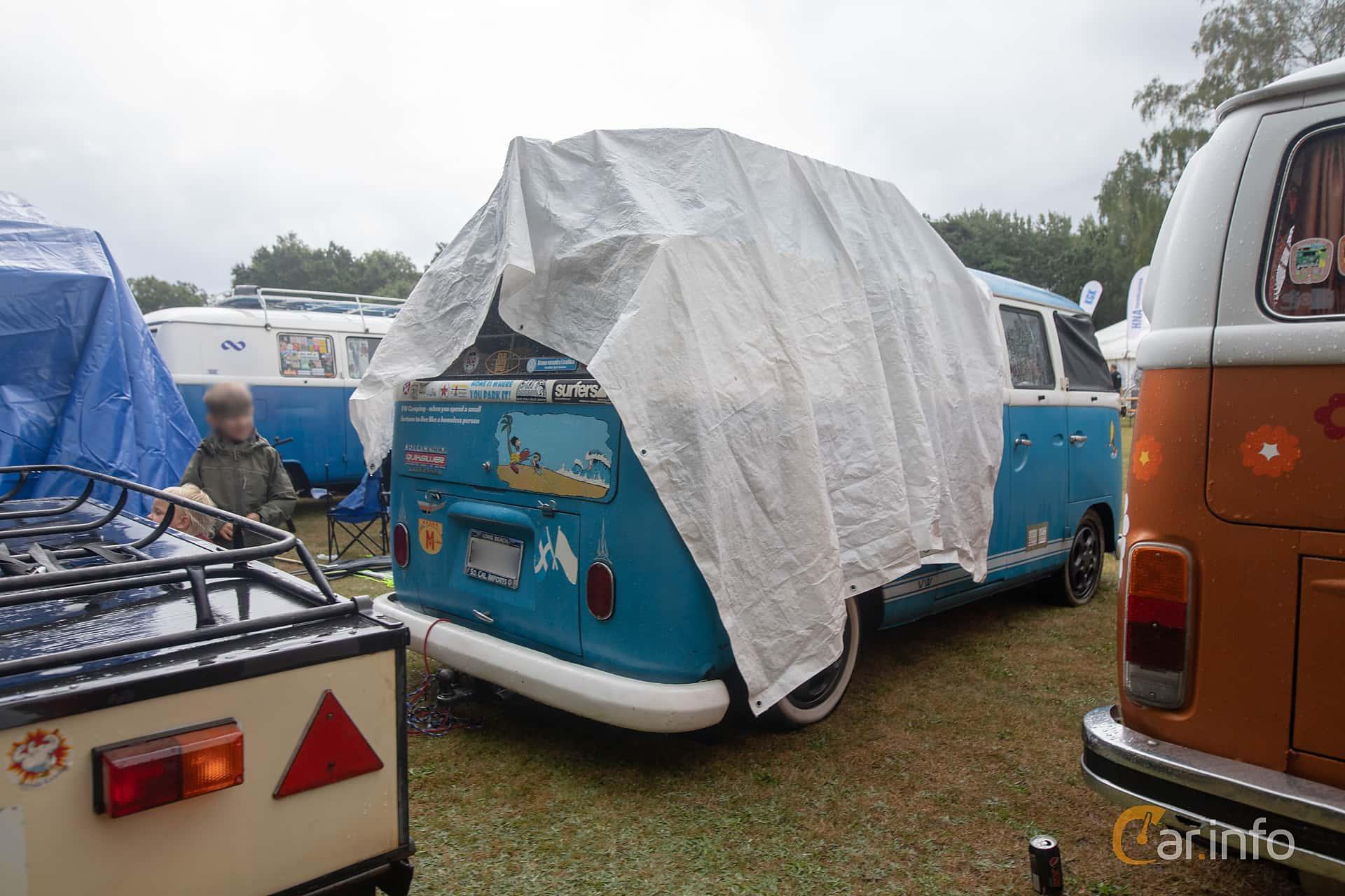 Back/Side of Volkswagen Transporter 1500 1.5 Manual, 42ps, 1965 at West Coast Bug Meet 2019