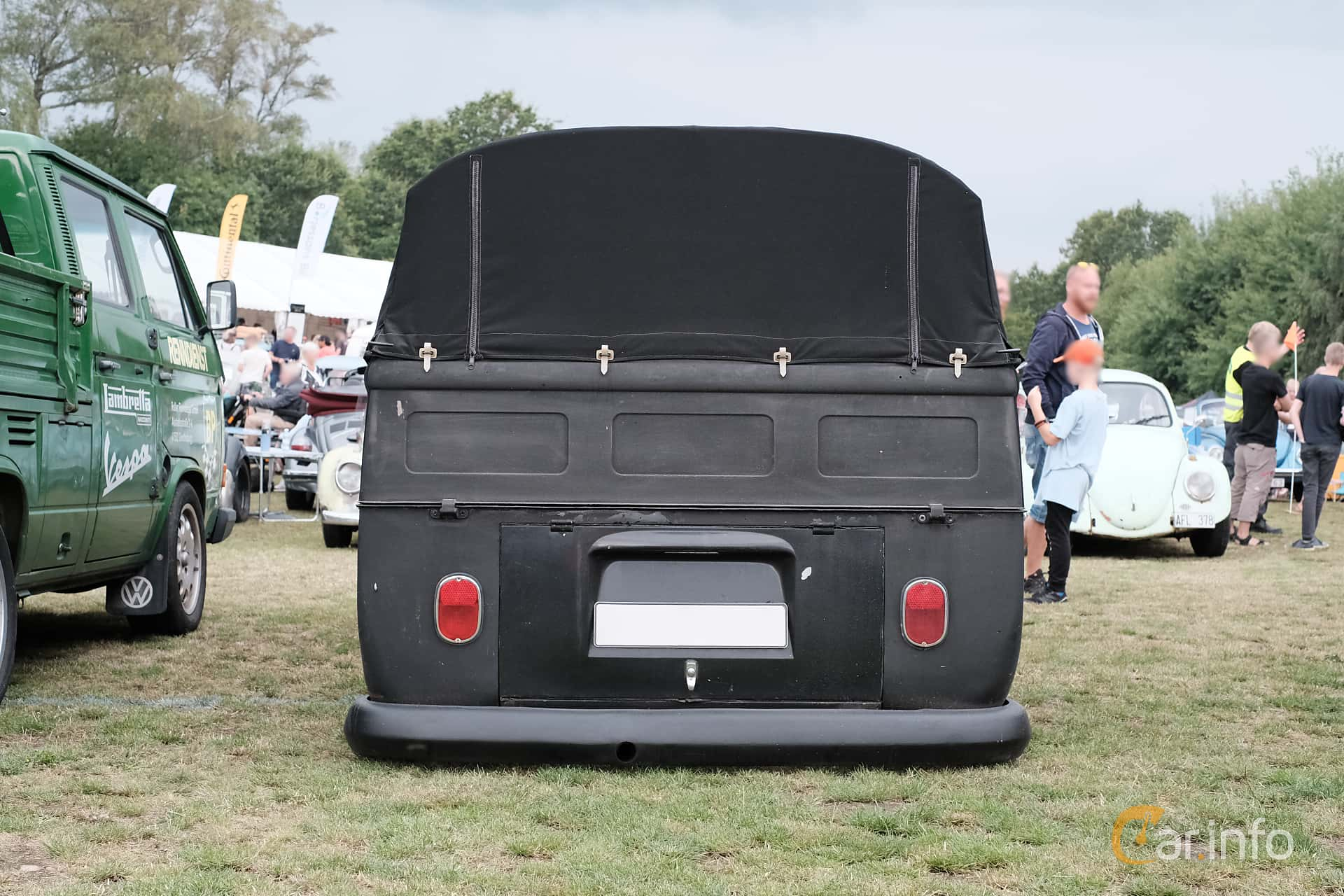 Volkswagen Transporter 1500 Pickup 1.5 Manual, 44hp, 1966 at West Coast Bug Meet 2019
