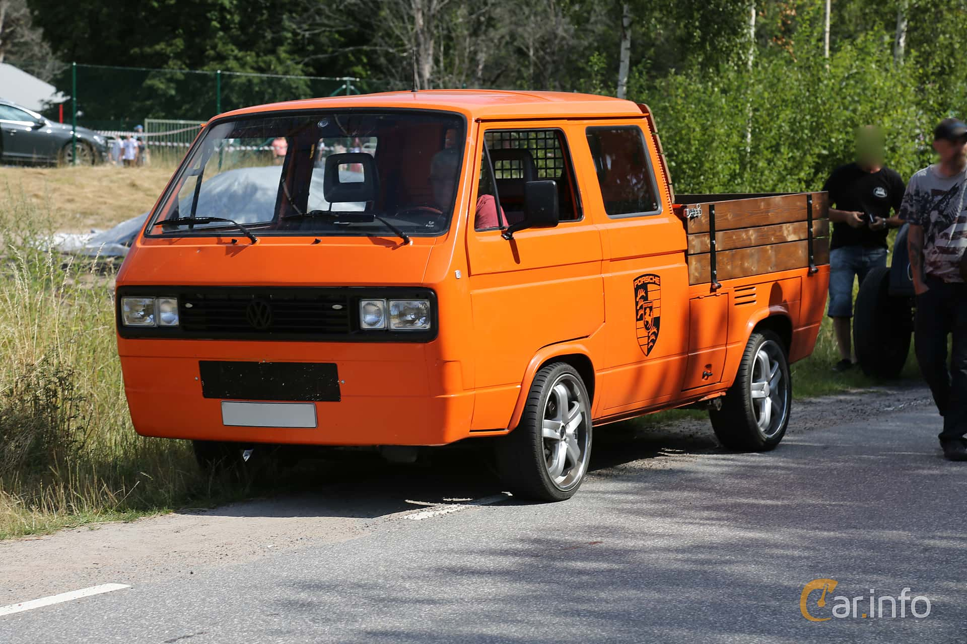 Volkswagen Transporter Chassi 2.1 Manual, 112hp, 1989 at A-bombers - Old Style Weekend Backamo 2019