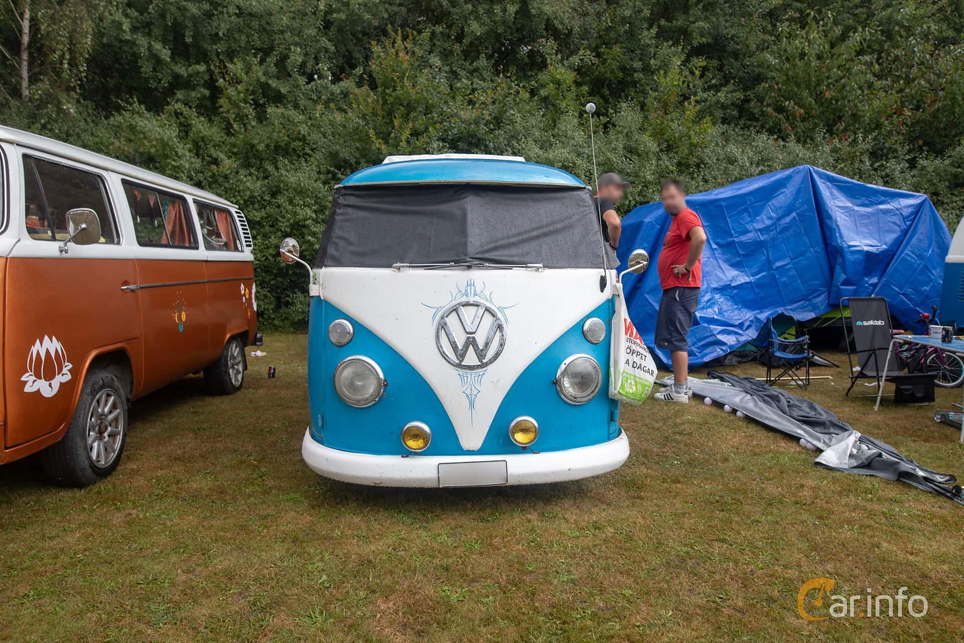 Front  of Volkswagen Transporter 1500 1.5 Manual, 42ps, 1965 at West Coast Bug Meet 2019