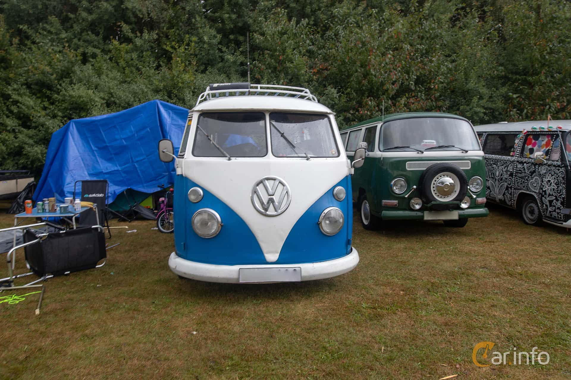 Front  of Volkswagen Transporter 1500 1.5 Manual, 44ps, 1966 at West Coast Bug Meet 2019