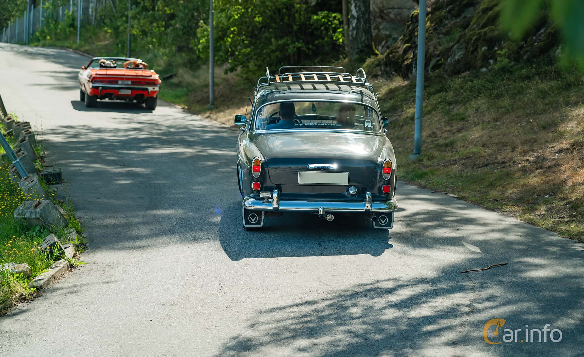 Volvo Amazon 121 P130 1.8 Manual, 75hp, 1965 at Stockholm Vintage & Sports Car meet 2019