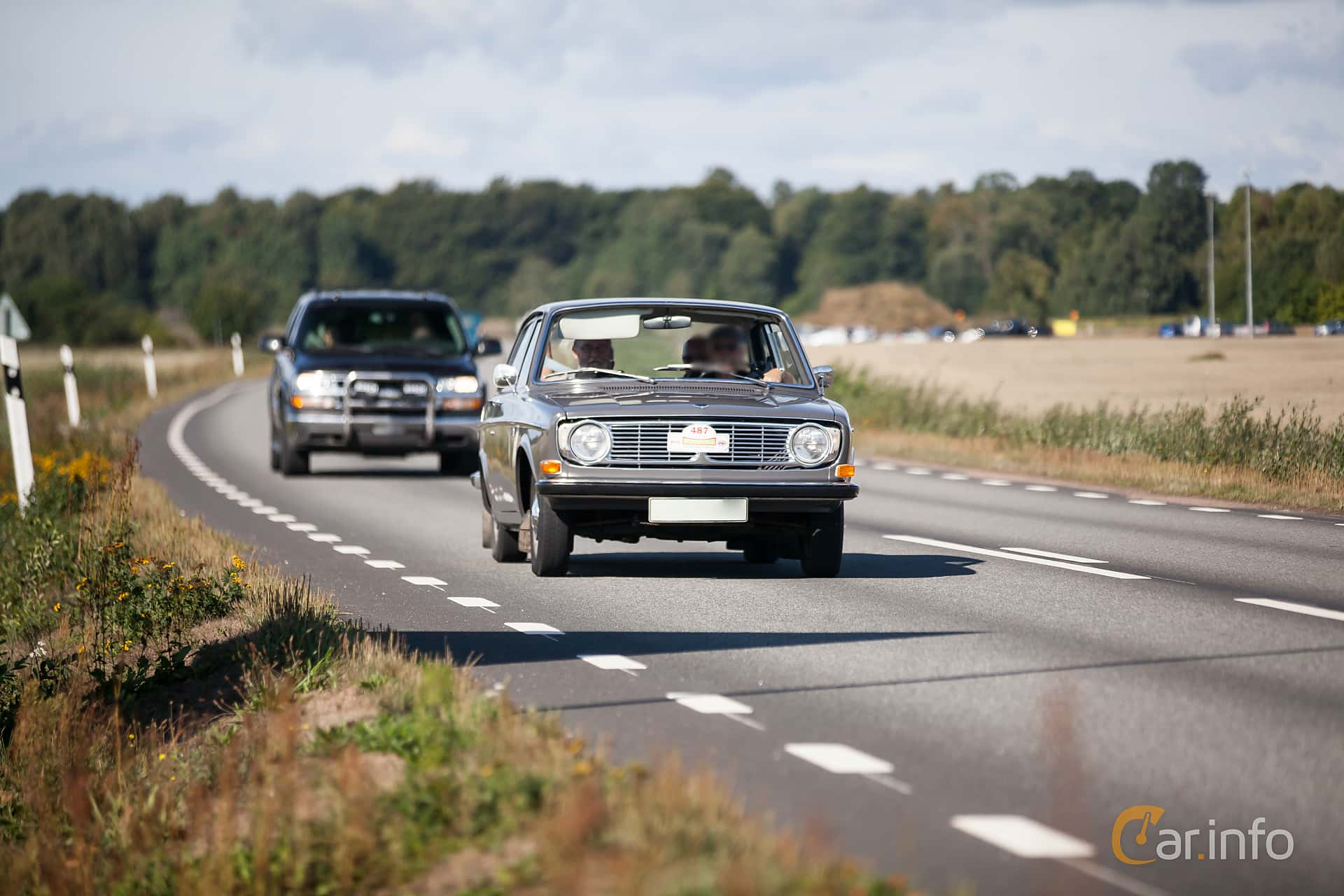 Volvo 142 1.8 Automatisk, 75hk, 1968 at Lergökarallyt 2018