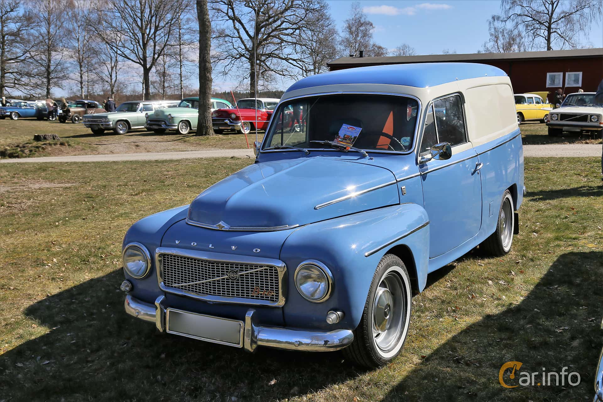 Volvo P210 Panel Van 1.8 Manual, 75hp, 1968 at Uddevalla Veteranbilsmarknad Backamo, Ljungsk 2019