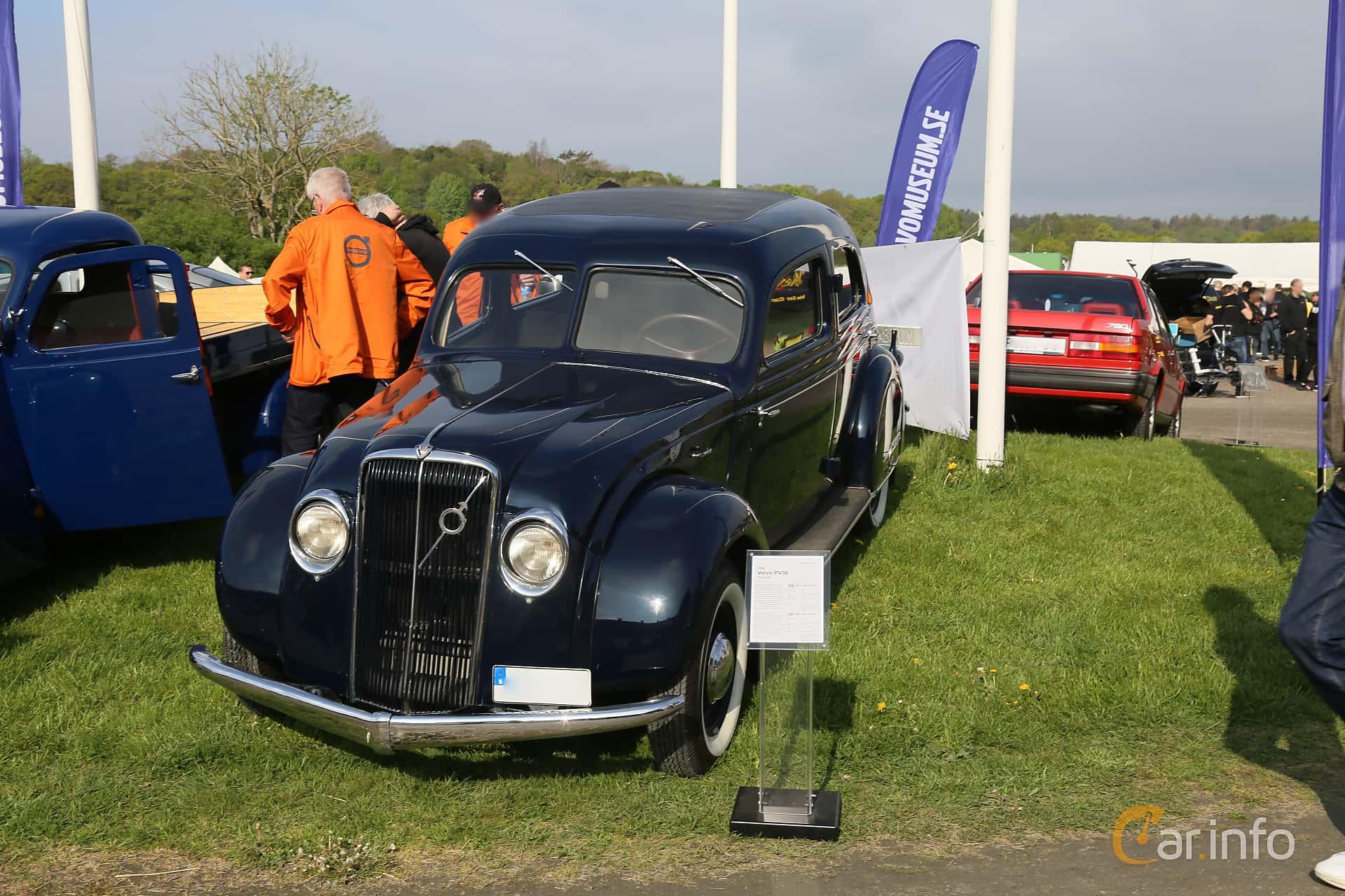 Volvo PV36 3.7 Manual, 86hp, 1936 at Tjolöholm Classic Motor 2019