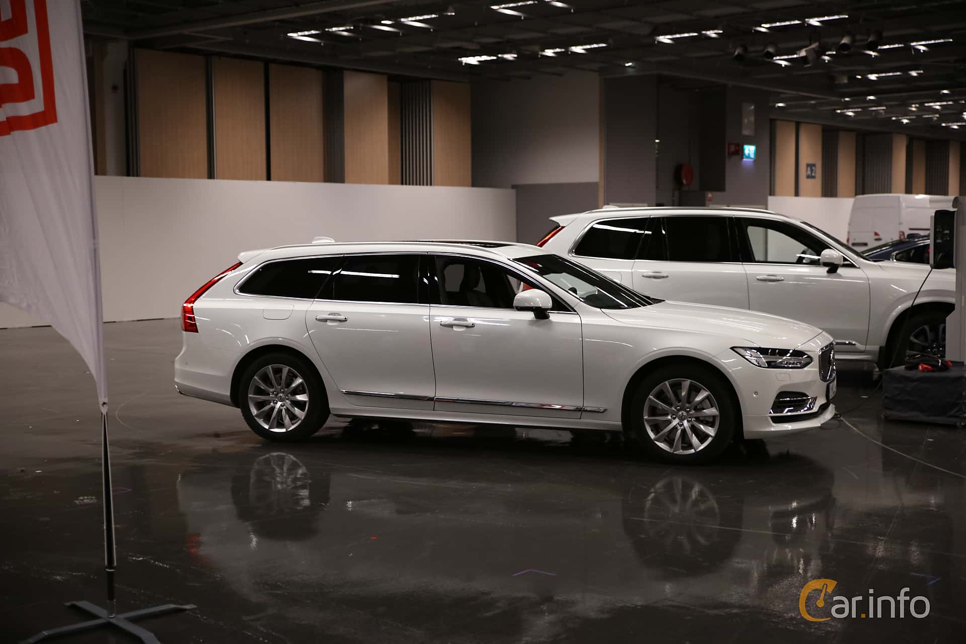 Volvo V90 T8 AWD Geartronic, 392hp, 2019 at eCar Expo Göteborg 2018