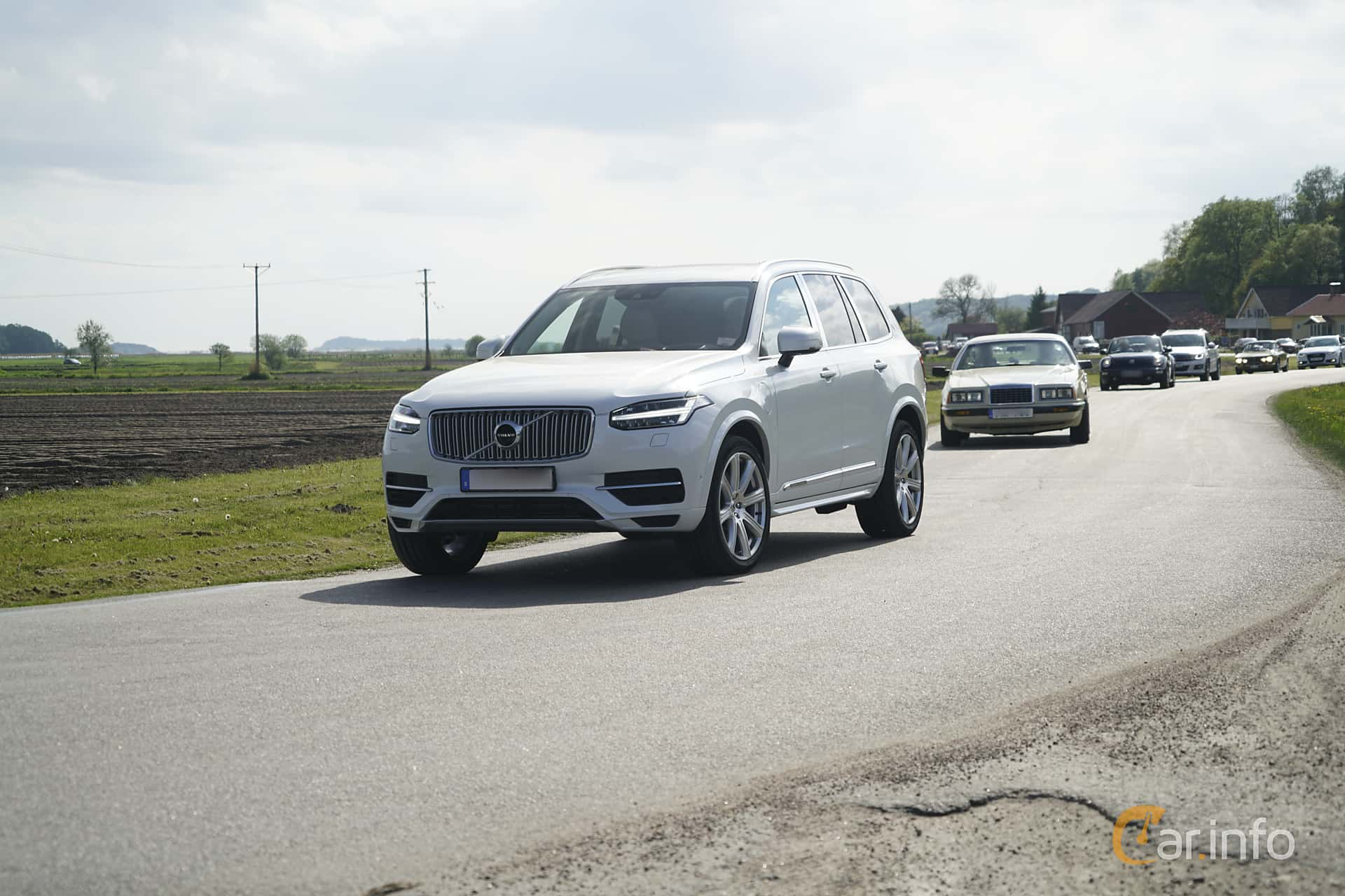 Volvo XC90 T8 AWD Geartronic, 407hp, 2017 at Tjolöholm Classic Motor 2017