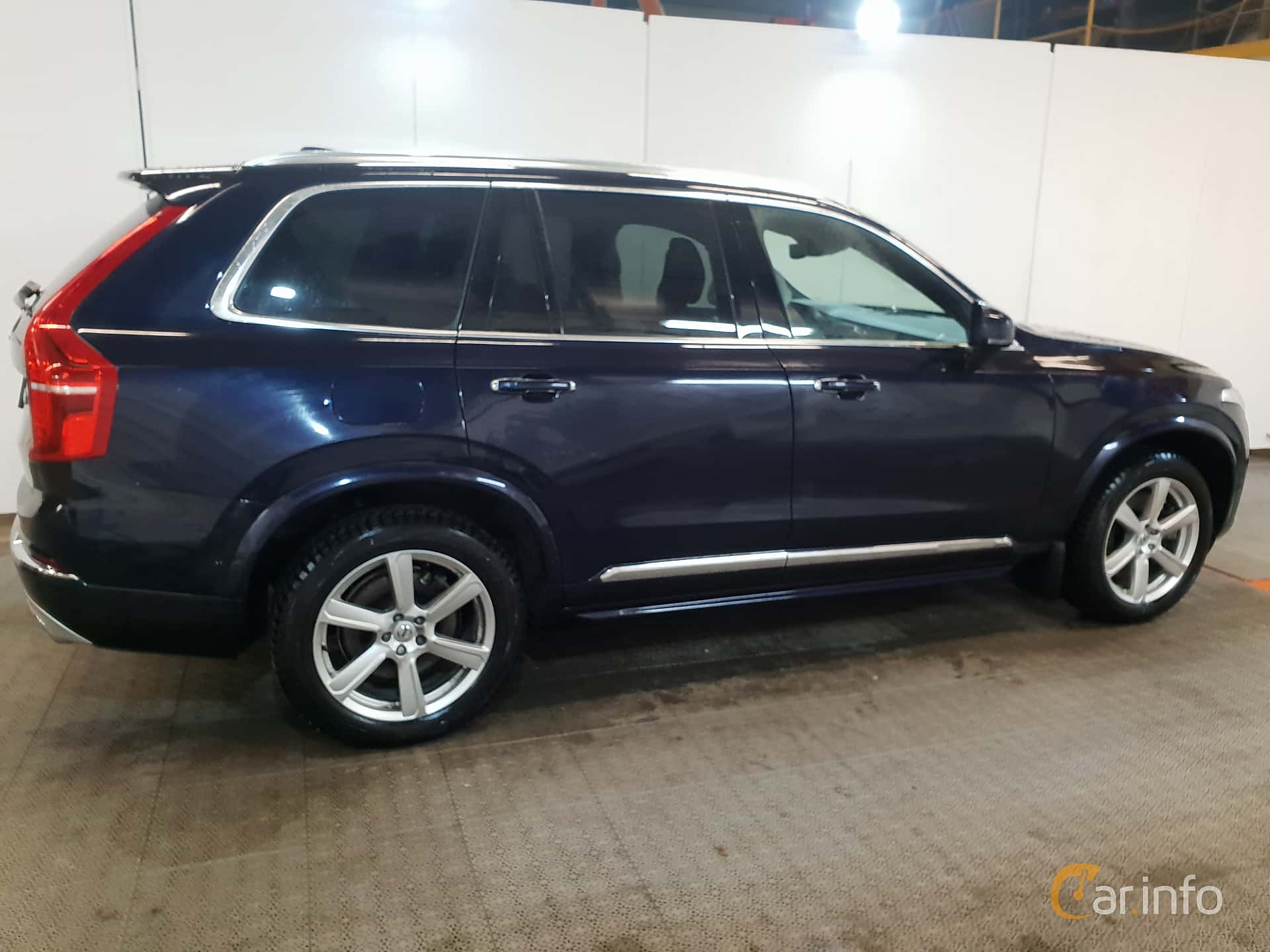 Side  of Volvo XC90 T8 AWD Geartronic, 407ps, 2017