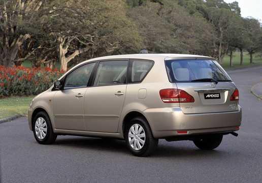 Bak/Sida av Toyota Avensis Verso 2.0 D4 VVT-i 150hk, 2001