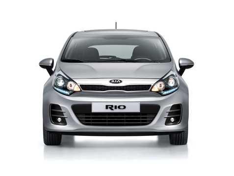 Front  of Kia Rio 5-door 2015