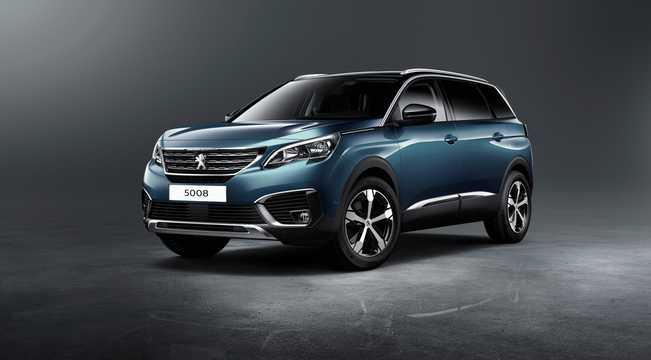 Front/Side  of Peugeot 5008 2nd Generation