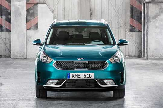 Front  of Kia Niro 1.6 DCT, 146hp, 2017