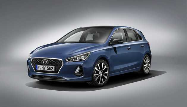 Front/Side  of Hyundai i30 PD