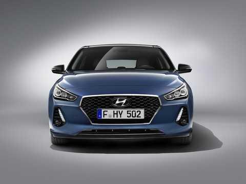 Front  of Hyundai i30 PD