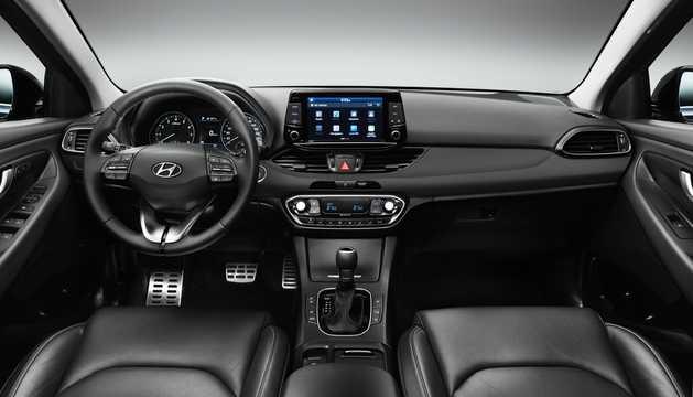 Interior of Hyundai i30 3rd Generation