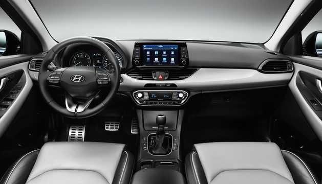 Interior of Hyundai i30 PD