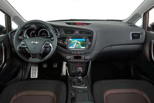 Interior of Kia cee'd 2012