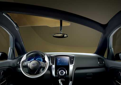 Interior of Kia No3 Concept Concept, 2009