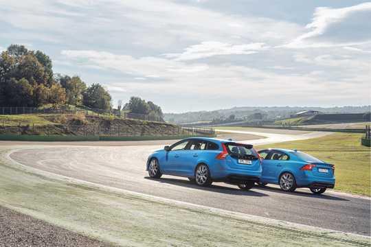 Back/Side of Volvo V60 2nd Generation