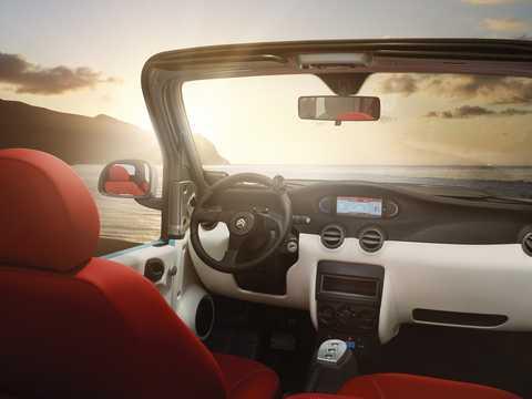 Interiör av Citroën e-Méhari 30 kWh Single Speed, 68hk, 2017