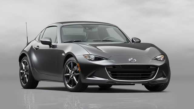 Front/Side  of Mazda MX-5 RF 2017