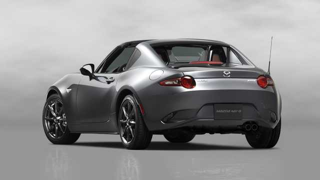 Back/Side of Mazda MX-5 RF 2017
