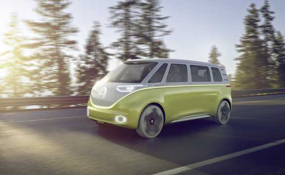 Front/Side  of Volkswagen I.D Buzz Concept Concept, 2017