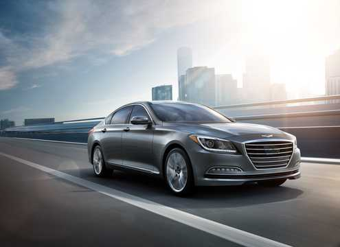 Front/Side  of Hyundai Genesis 2016