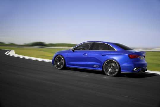 Back/Side of Audi A3 Clubsport  quattro 2.5 TFSI quattro S Tronic, 532hp, 2014