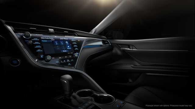 Interiör av Toyota Camry generation XV60