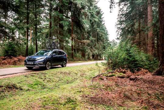Fram/Sida av Honda CR-V 2015