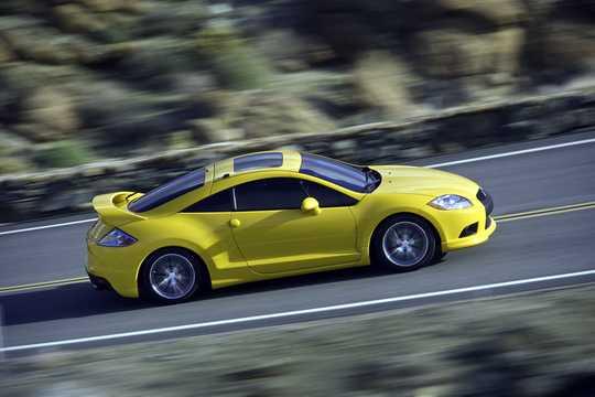 Sida av Mitsubishi Eclipse 2009