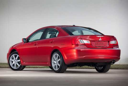 Bak/Sida av Mitsubishi Galant 2010
