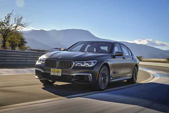 Front Side Of BMW M760Li XDrive 66 V12 Steptronic 610hp 2017
