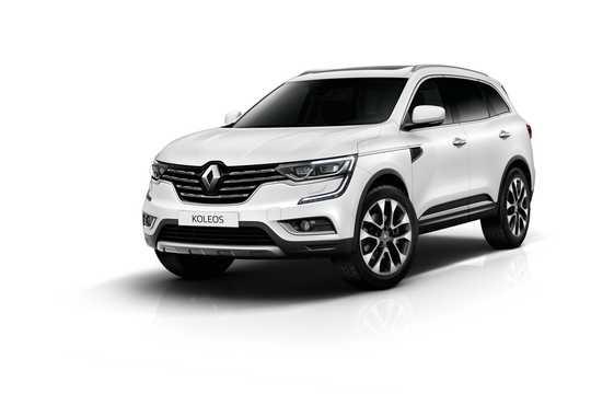 Fram/Sida av Renault Koleos 2016