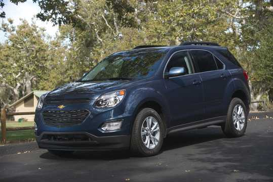 Front/Side  of Chevrolet Equinox 2016