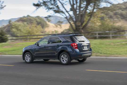 Back/Side of Chevrolet Equinox 2016