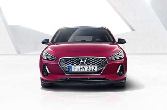Front  of Hyundai i30 Wagon 2017