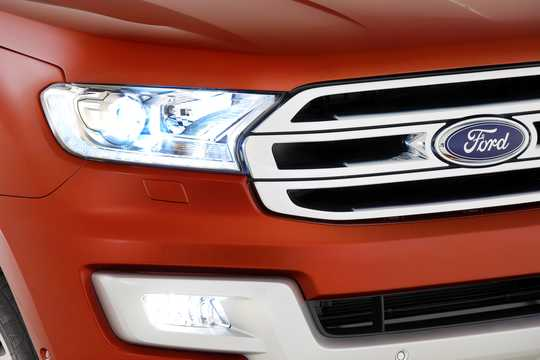 Close-up of Ford Everest 4th Generation