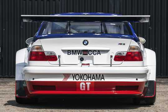 Back of BMW M3 GTR 4.0 V8 Manual, 450hp, 2001