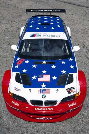 Front  of BMW M3 GTR 4.0 V8 Manual, 450hp, 2001