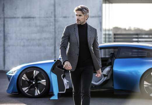 Närbild av Peugeot Instinct Concept Concept, 2017